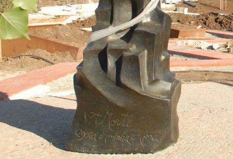 António Nobre (1867/1900) Poetas do Barroco (Séc. XVIII) aos Poetas do Romântico (Séc. XIX) Escultor: José Joaquim Laranjeira Santos Parque dos Poetas - Obras 2ª Fase A
