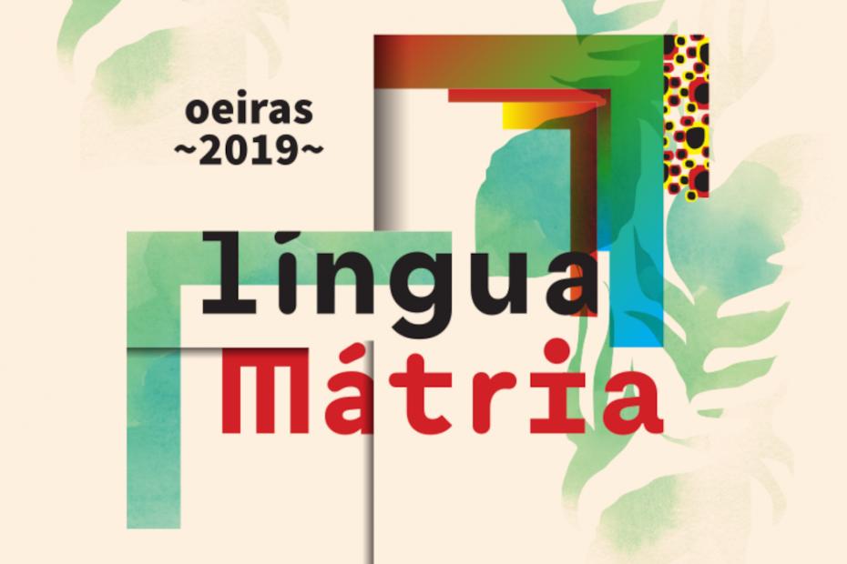 Cartaz Festival Língua Mátria